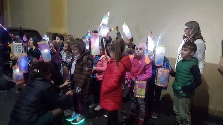Lampioane și lumină, în seara Sfântului Martin